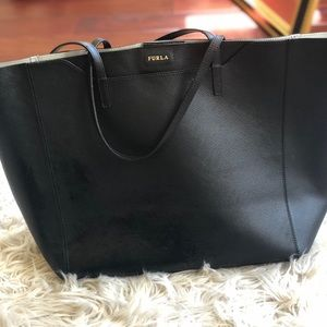Authentic Furla tote handbag.